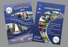 Activity centre brochures