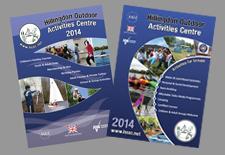 Activity centre brochures