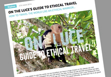 Ethical travel article