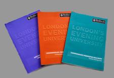 University prospectuses