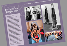 Iyengar yoga website