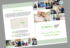 Nursing home brochure